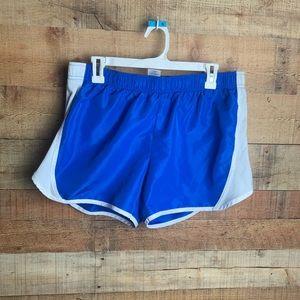 Women's Blue Athletic Running Shorts